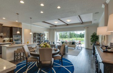 Durbin Family Room and Breakfast Area