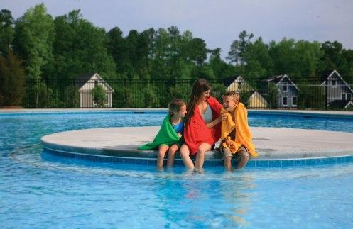 family-in-pool