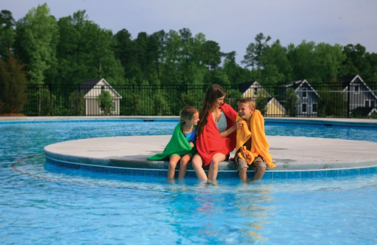 family-in-pool