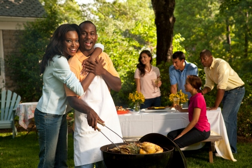 Grill Out in Your Backyard