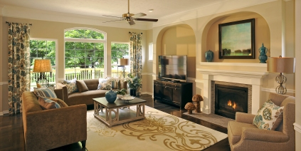 Family Room in Celestial Plan