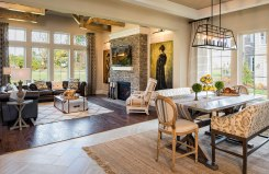 Family Room and Breakfast Area