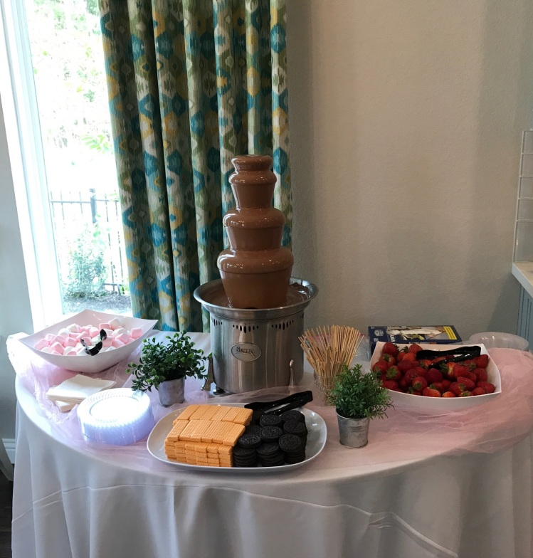 Chocolate fountain-