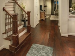 Wide plank wood floor