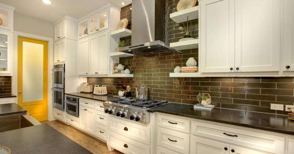 Drees Homes Kitchen and Walk-in Pantry | Pantone Color of the Year 2021