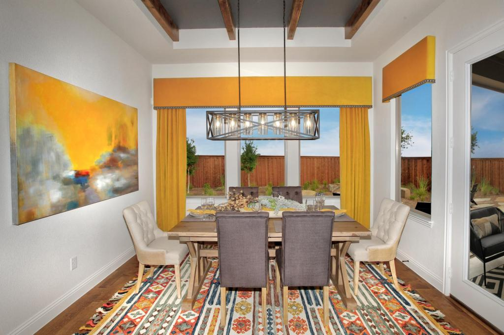 Drees Homes Dining Room | Pantone Color of the Year 2021