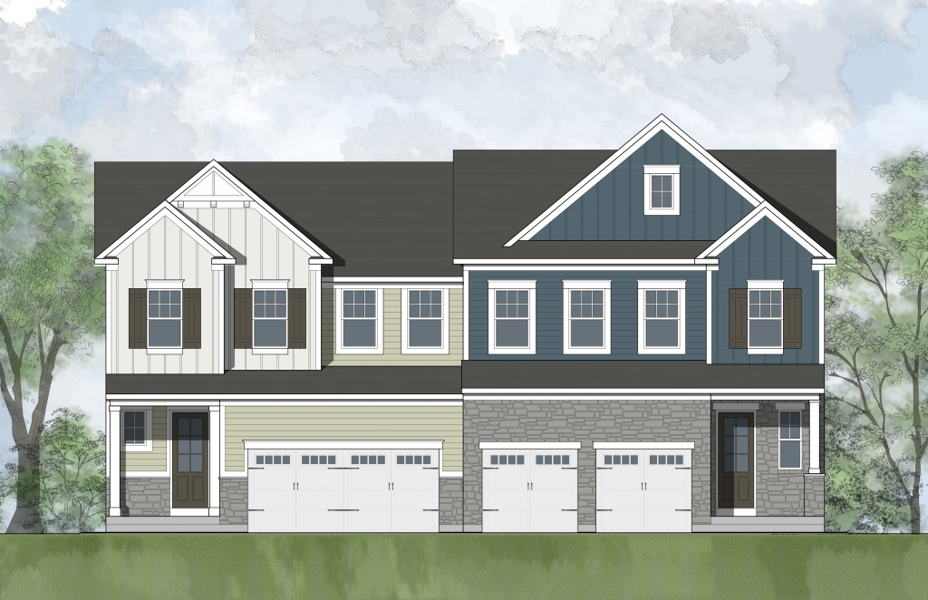 The Anna floor plan, a new and exciting floor plan from Drees Homes at Potomac Shores